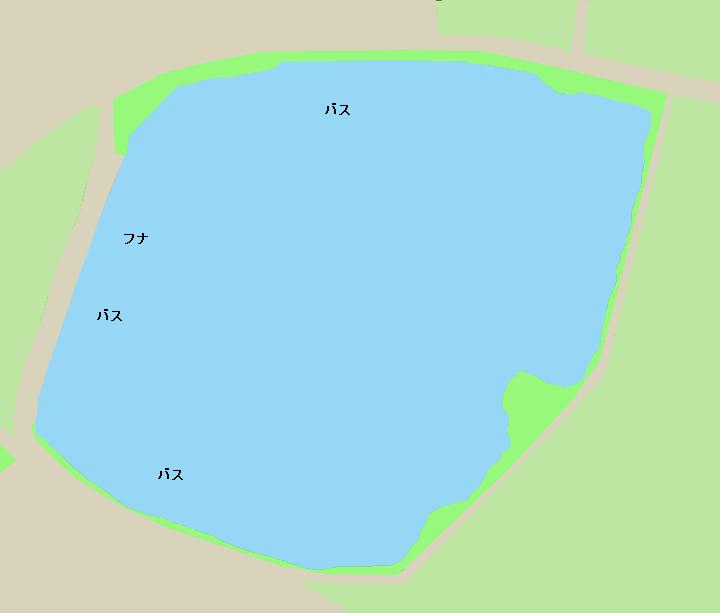 檜原大池ポイント図