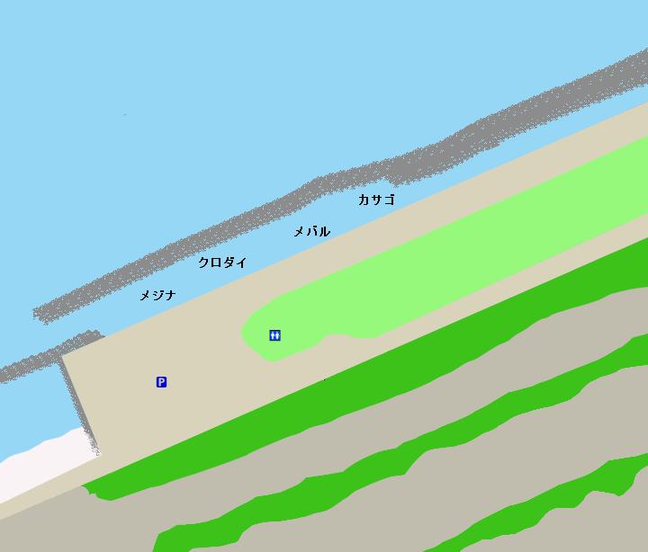 広野海岸公園ポイント図