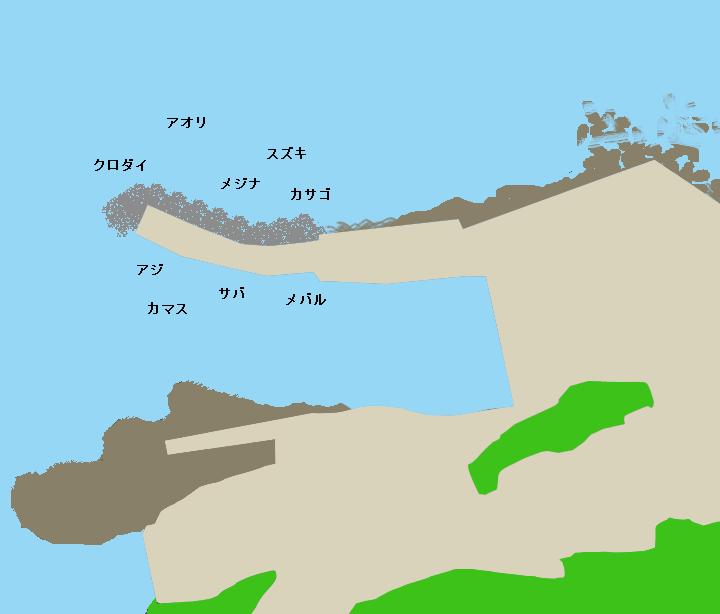 波来港ポイント図