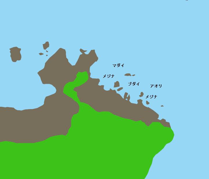 黒崎ポイント図