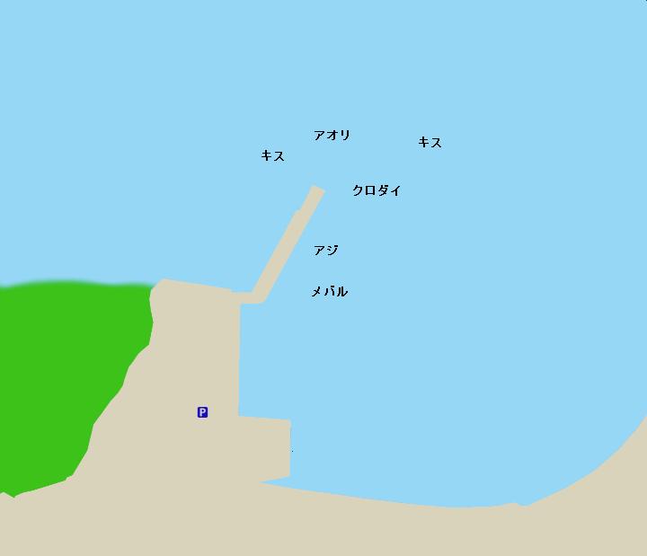 久連港ポイント図