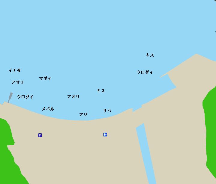 久料港ポイント図