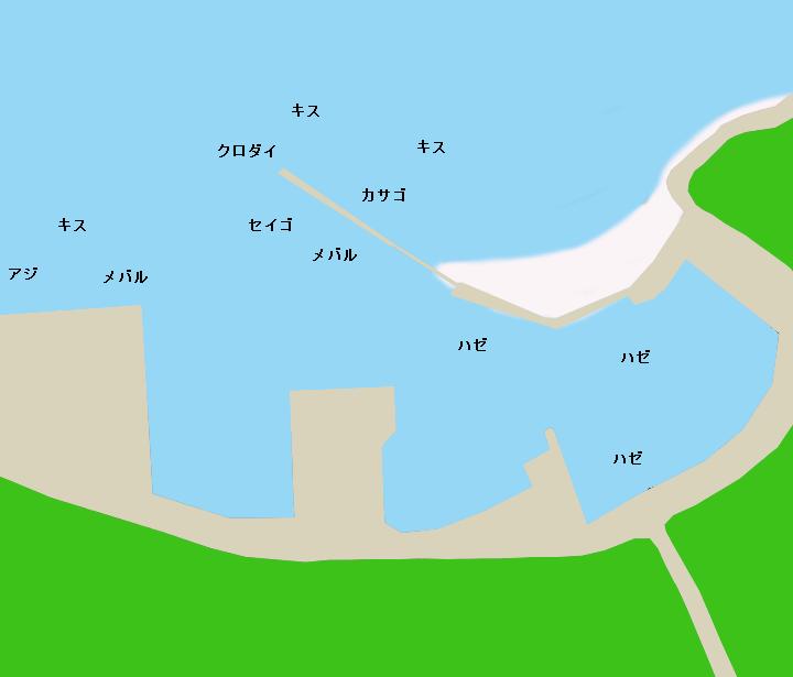 くじ港ポイント図