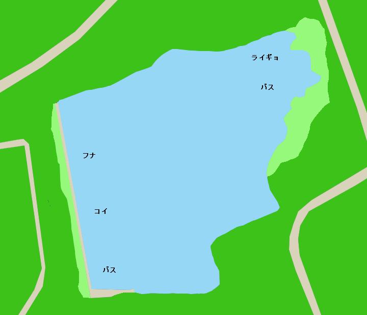 緑ヶ池ポイント図