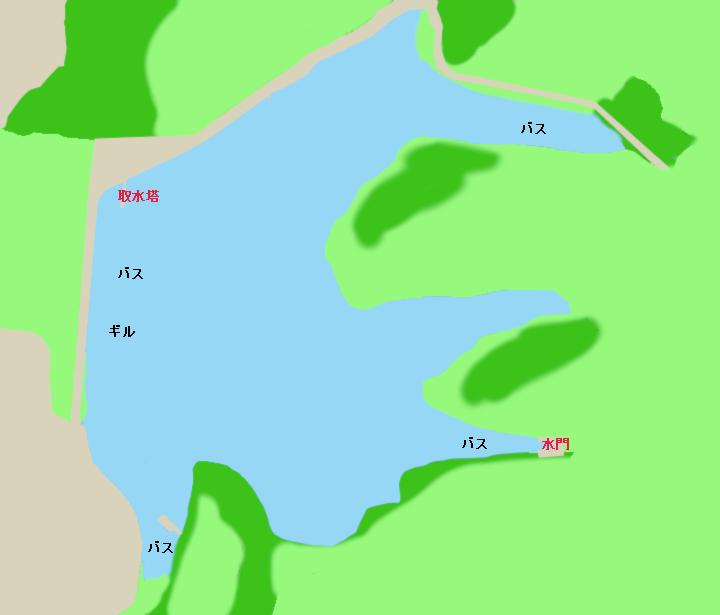 三好池ポイント図