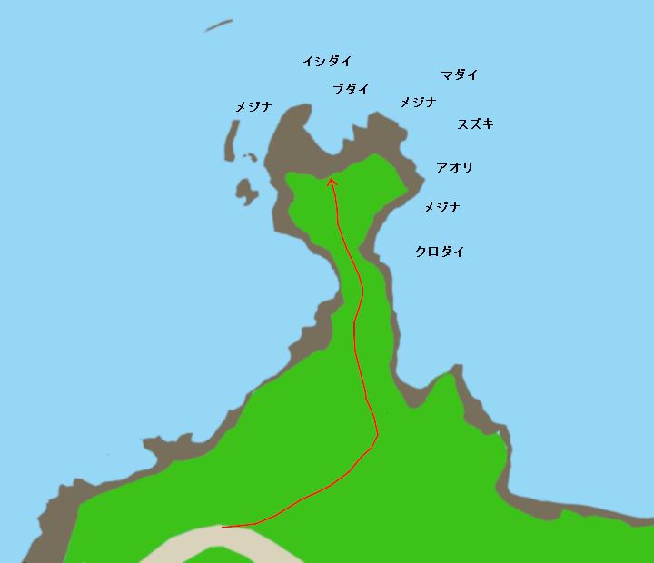 室崎ポイント図