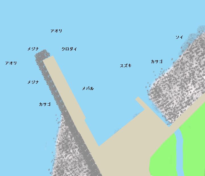 下村港ポイント図