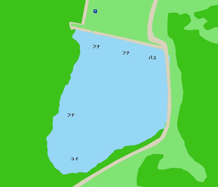 韮山城池ポイント図