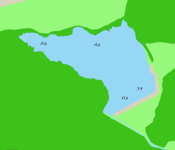 宝地池ポイント図