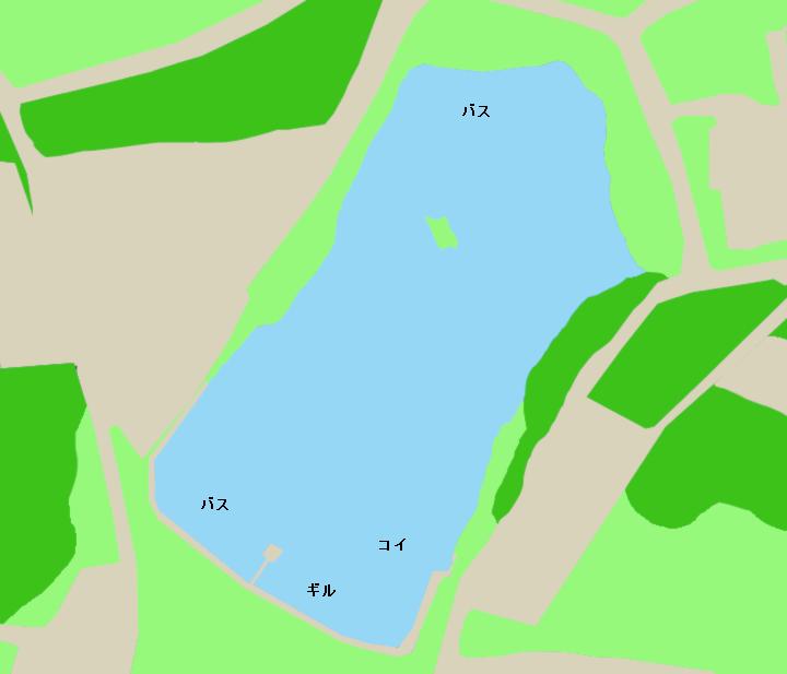 立石池ポイント図