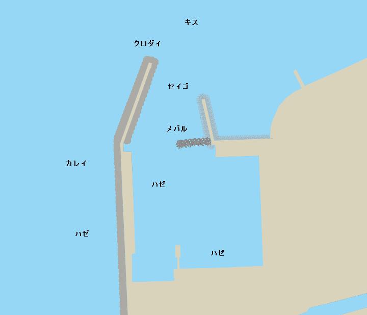 吉田新港ポイント図
