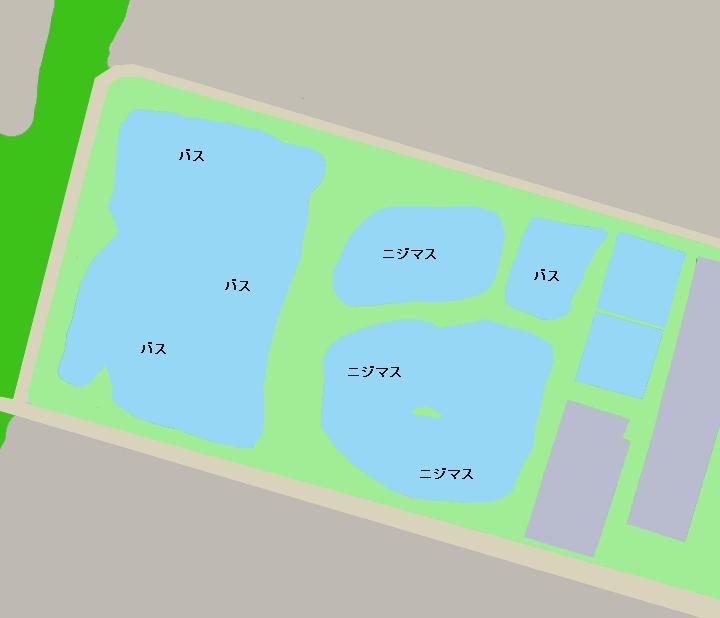 浜名湖フィッシングリゾートポイント図
