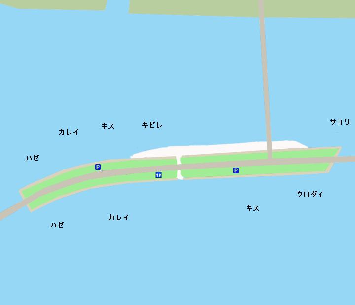浜名湖中之島ポイント図