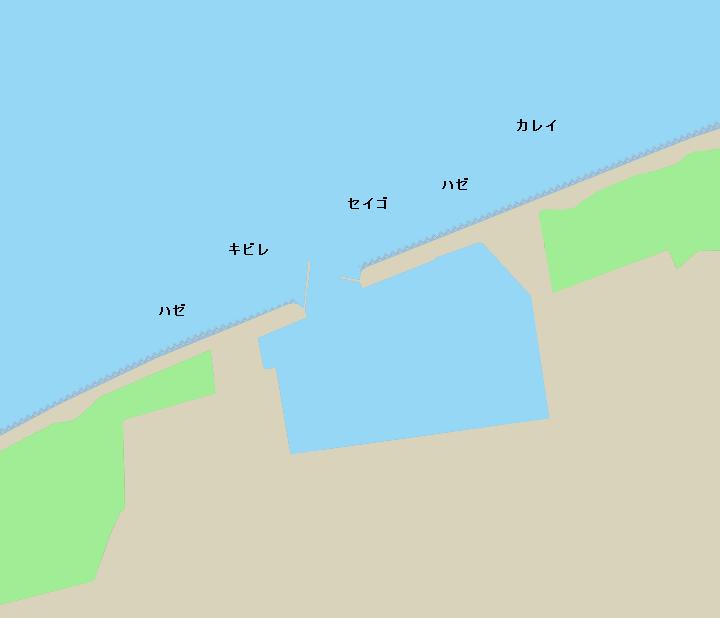 鷲津漁港周辺ポイント図