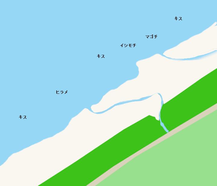 花園海岸ポイント図