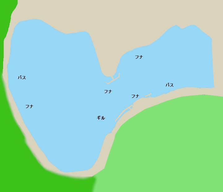 野守の池ポイント図