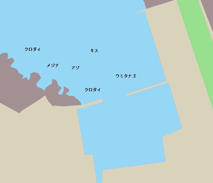 小戸港ポイント図