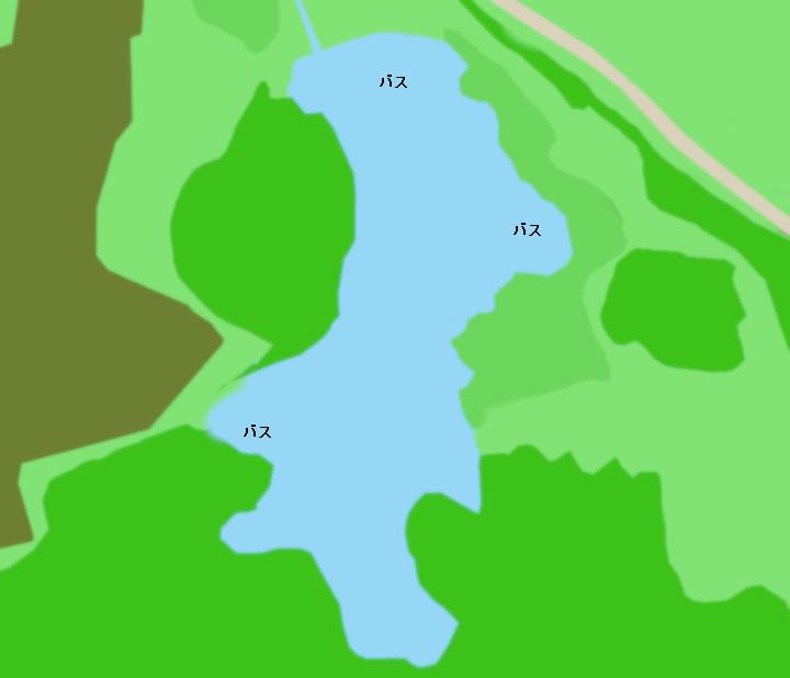 大谷代池ポイント図