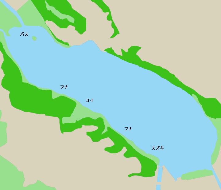 佐鳴湖ポイント図