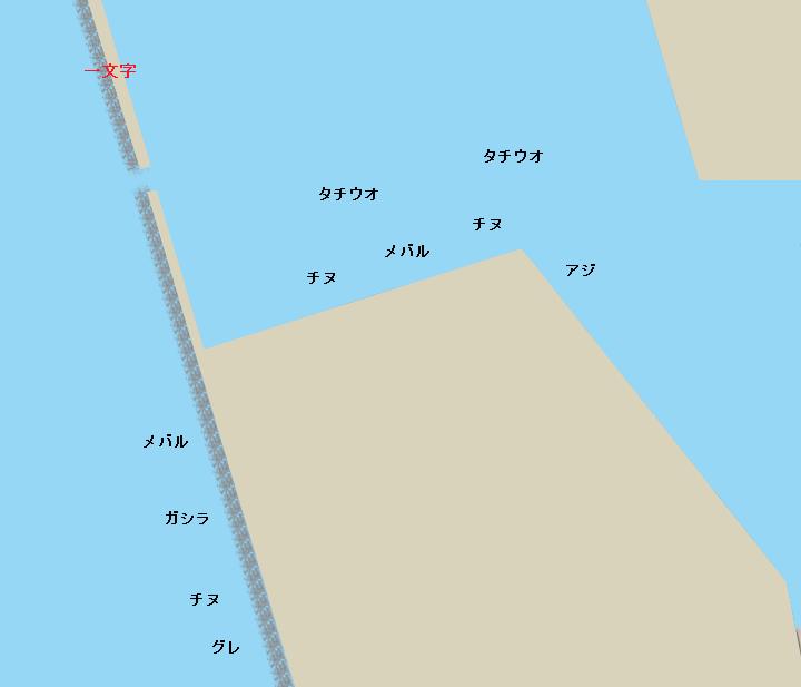 水軒鉄鋼団地ポイント図