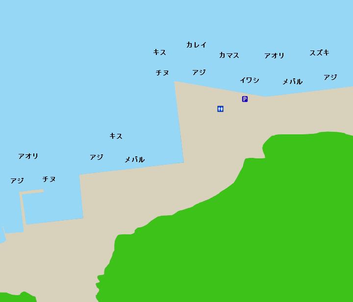 引本港ポイント図