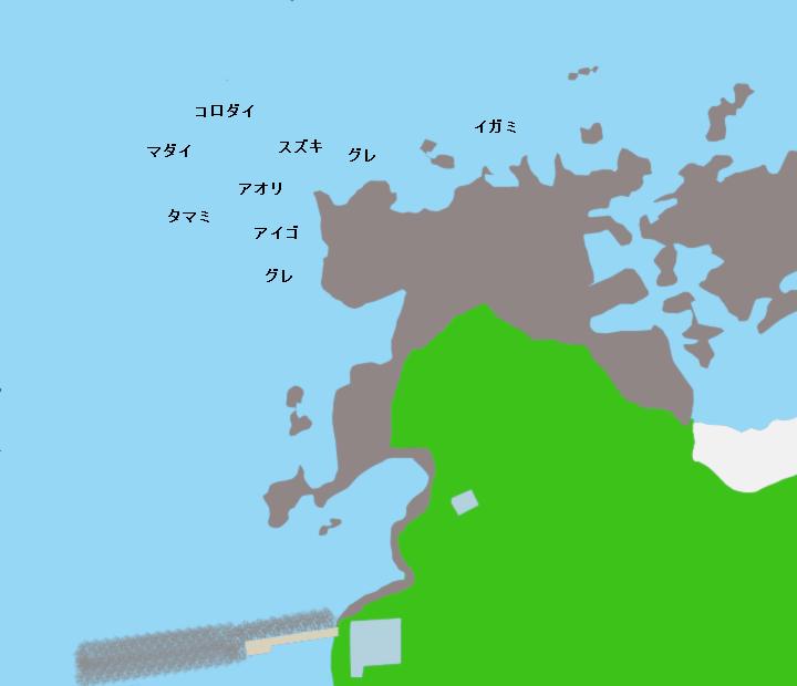 市江崎ポイント図