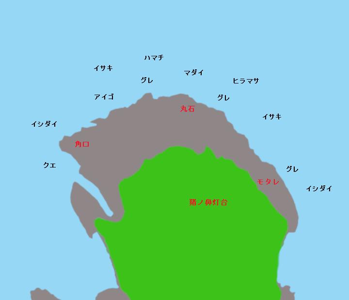 猪ノ鼻ポイント図