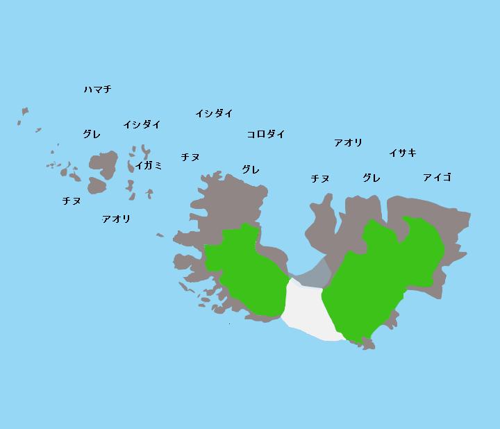 鹿島ポイント図