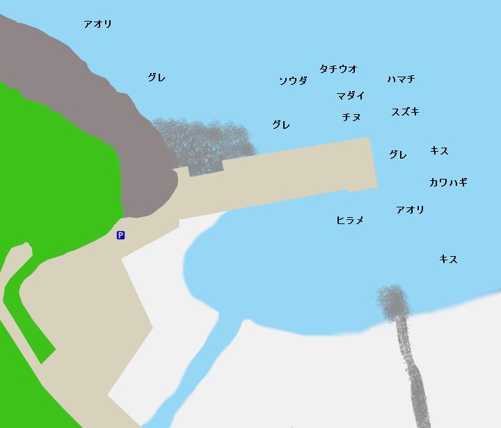 木本港ポイント図