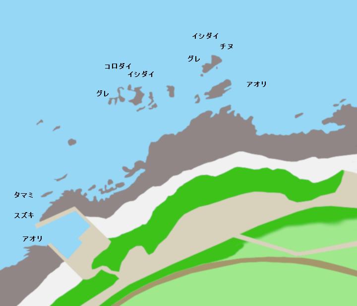 切目崎ポイント図