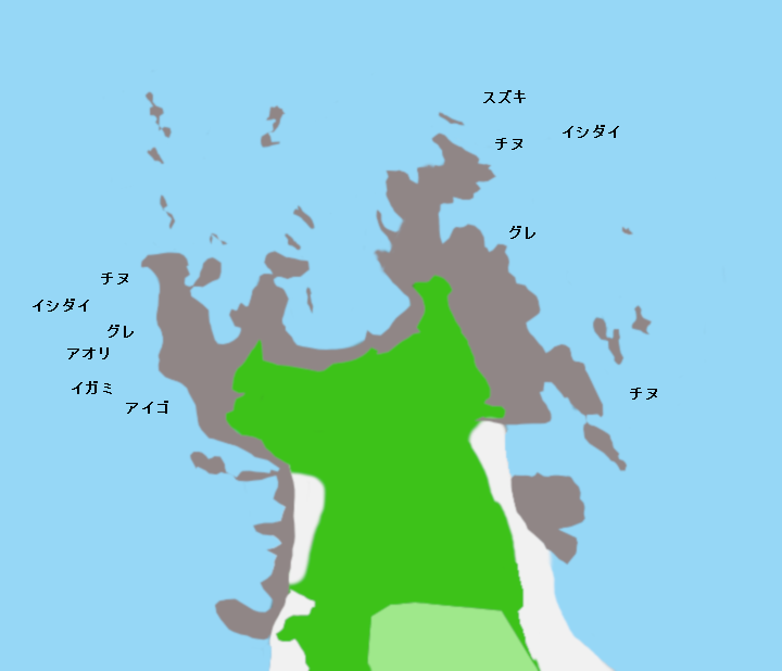 目津崎ポイント図