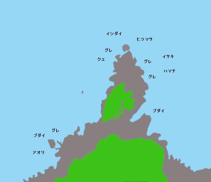 ナサ崎ポイント図