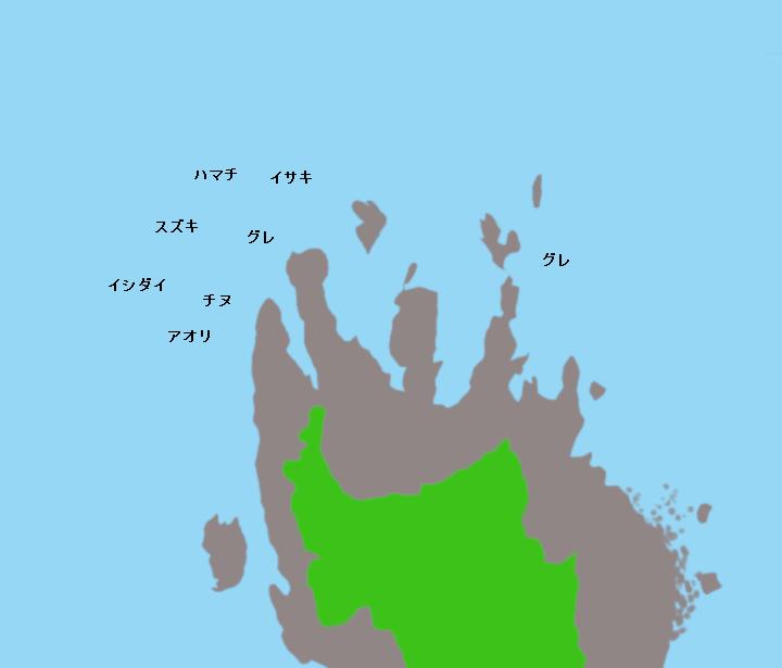 小浦崎ポイント図
