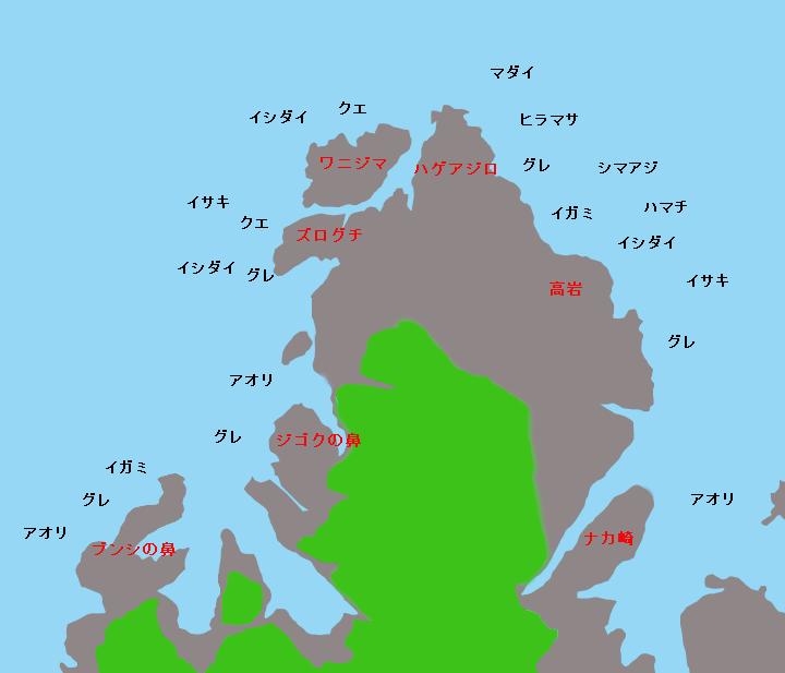 須江崎ポイント図
