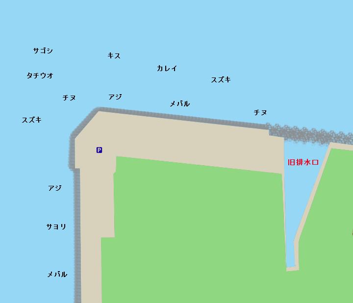 伊保港(関電白灯)ポイント図