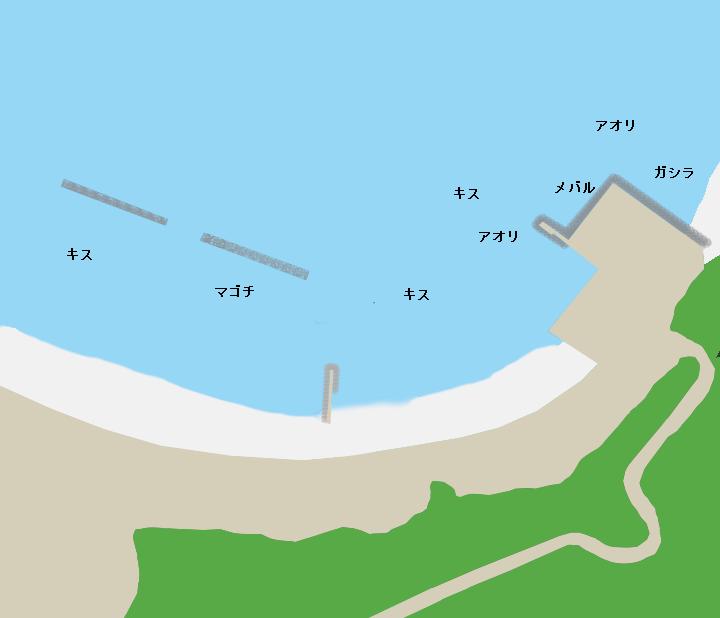 切浜ポイント図