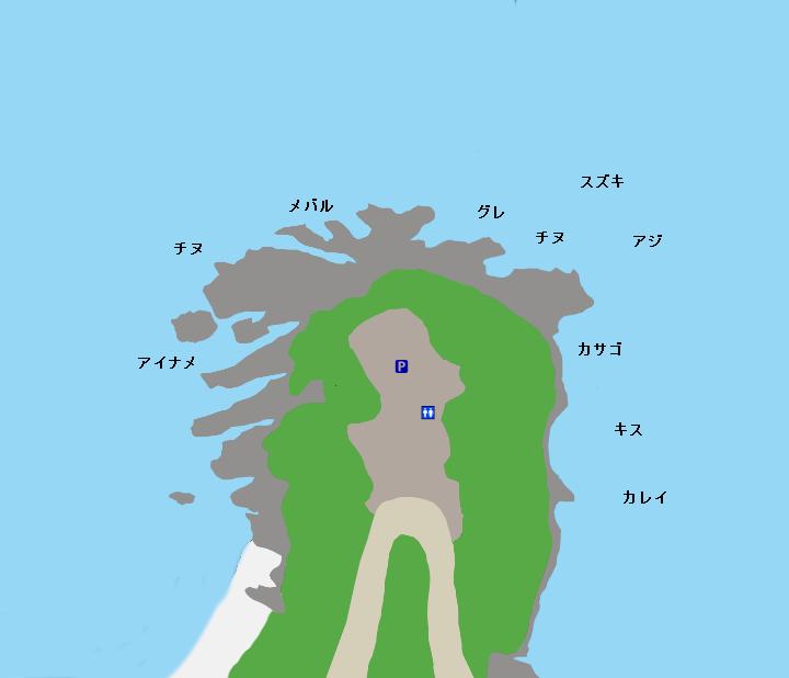 藻振鼻ポイント図