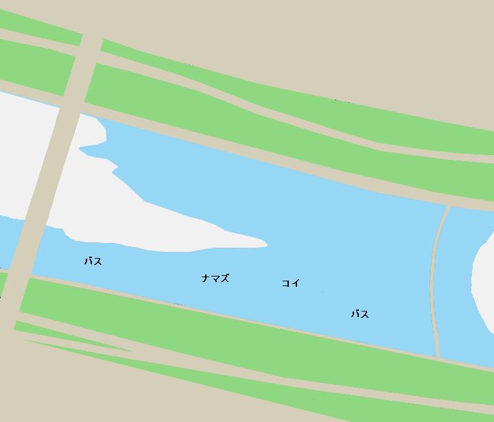 武庫川甲武橋周辺