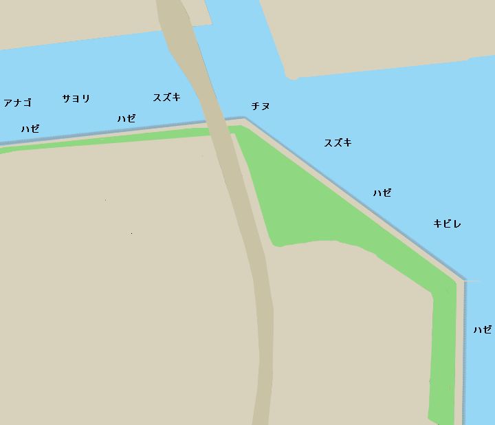 西宮浜石畳ポイント図