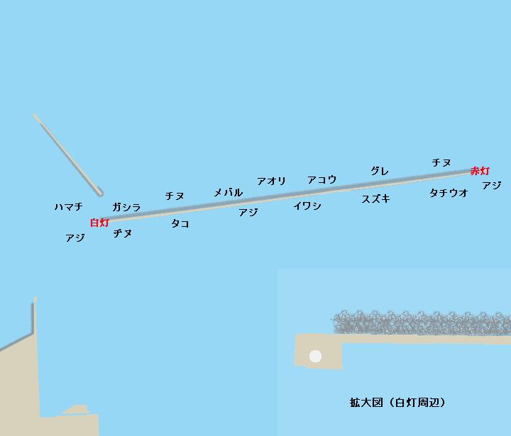 和田防ポイント図