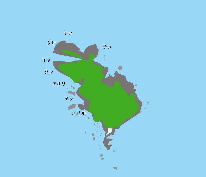 蒼島ポイント図