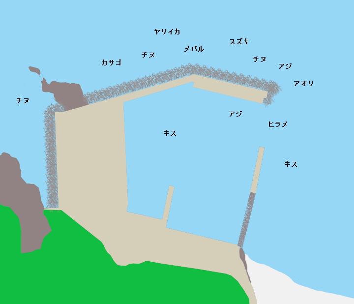 小浜漁港(益田市)の釣り情報