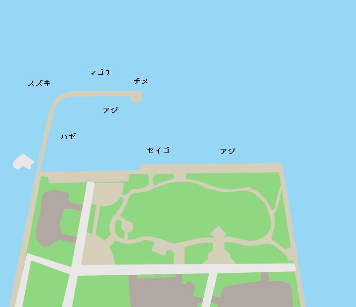 久美浜公園ポイント図