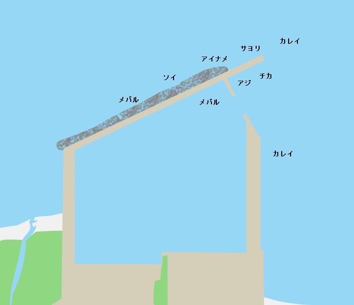 奥内漁港の釣り情報