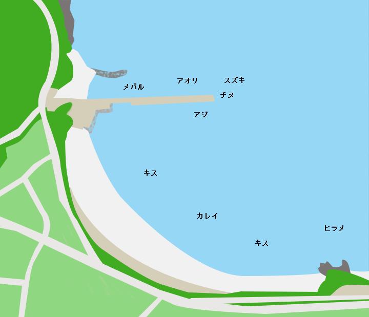 勢浜ポイント図
