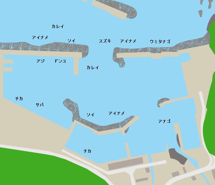 太田名部漁港