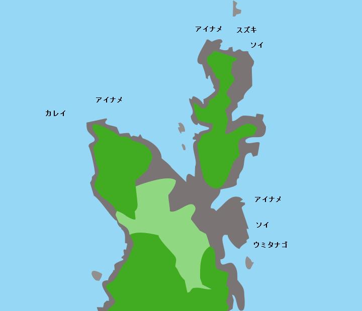 首崎ポイント図