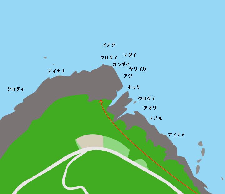 入前崎ポイント図