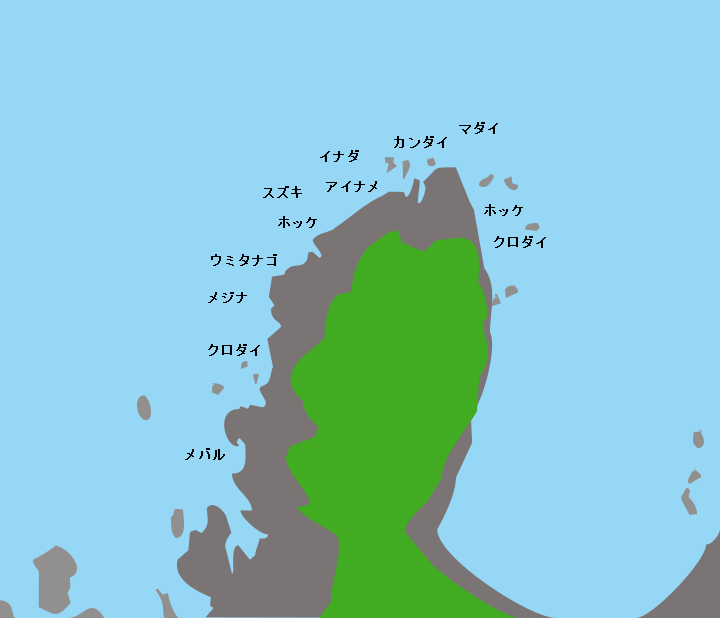 椿山ポイント図