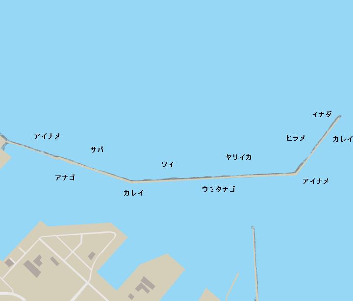 八戸港三菱防波堤